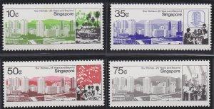 Singapore 469-472 MNH (1985)