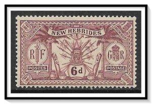 New Hebrides - British #37 Native Idols MH