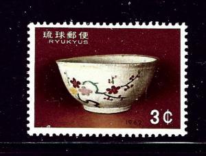 Ryukyu Is 103 MNH 1962 Philatelic Week