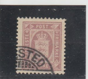 Denmark  Scott#  O9A  Used  (1902 Official Stamp)