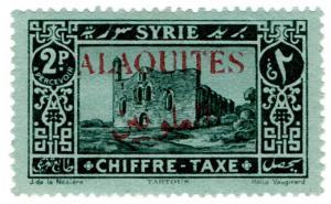 (I.B) Syria Postal : Postage Tax 2pi (Alaouites)