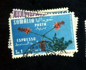 SOMALIA #C45 E10-11 USED FVF Cat $10