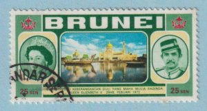 BRUNEI 178  USED - NO FAULTS EXTRA FINE !
