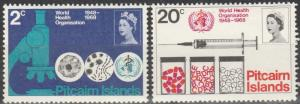 Pitcairn Is #95-6  MNH   (S9519)