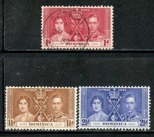 Dominica # 94-6, Used. CV $ 2.40