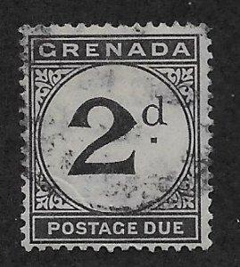 GRENADA SC# J13   FVF/U 1921