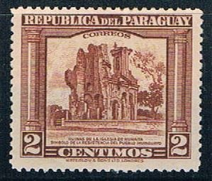 Paraguay Ruins 5 - pickastamp (PP8R603)