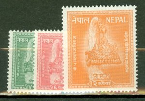 AZ: Nepal 90-101 mint CV $61.45; scan shows only a few