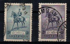 Australia Scott 148-9 Used (Catalog Value $76.50)