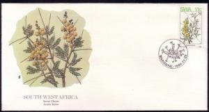 South West Africa FDC SC# 532 Sweet Thorn L319