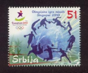 Serbia Sc# 517 MNH Youth Olympic Games 2010