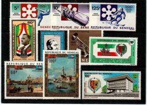 Senegal Scott 103-11 Mint NH (Catalog Value $21.85)