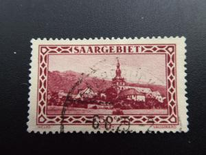 Germany  Saargebiet 1926  Sc.#126