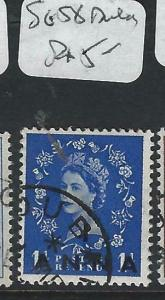 BRITISH P.O. MIDDLE EAST (P0603B) QEII  CANCEL  DUBAI  SG 58     VFU