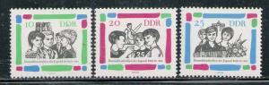 DDR #695-697 MNH CV$1.75