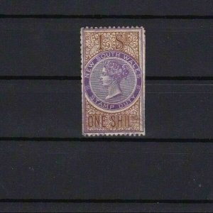 NEW SOUTH WALES STAMP DUTY  STAMP REF R 4070