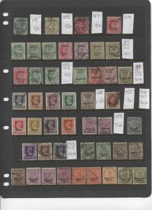 STAMP STATION PERTH -Patialia #Selection of 47 Stamps Mint / Used -Unchecked