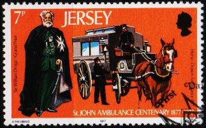Jersey. 1977 7p S.G.176 Fine Used