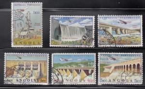 Angola, SW527-532, Used, 1965, Structures