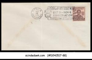 PHILIPPINES - 1950 SCOUTING COVER