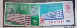 Brunei Scott #188-9*nh  (1973)