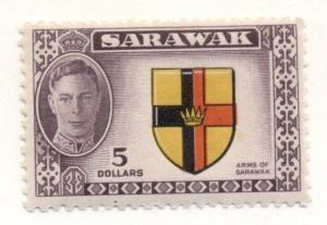 SARAWAK #194 Mint Hinged, Scott $24.00