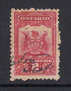 Canada, Ontario (Revenue), van Dam OST1, used