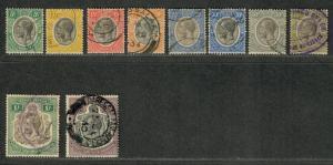 Tanganyika Sc#29-40 Used/F-VF, Partial Set, Cv. $42.45