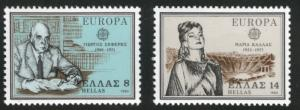 GREECE Scott 1352-53 MNH** 1980 Europa set