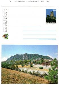 San Marino, Postal Stationary