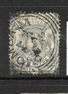 BRITISH EAST AFRICA 1896  1r   QV   GU  SG 75