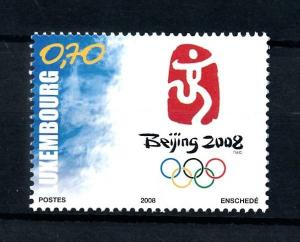 [92437] Luxembourg Luxemburg 2008 Olympic Games Beijing  MNH