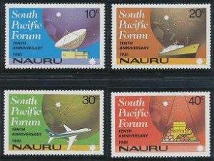 Nauru 240-243 MNH (1981)