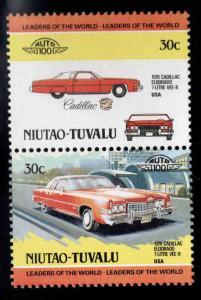 Niutau-TUVALU Scott 4 MNH** Classic Automobile pair