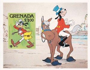 Grenada # 959, Disney Characters, Goofy, Souvenir Sheet, NH, 1/2 Cat.