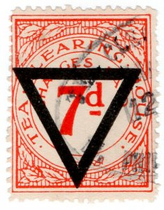 (I.B) George V Revenue : Tea Clearing House 7d