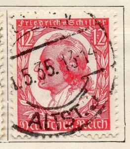 Germany 1934 Early Issue Fine Used 12pf. 106285