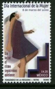 MEXICO 2179, International Womens Day. MINT, NH. F-VF.