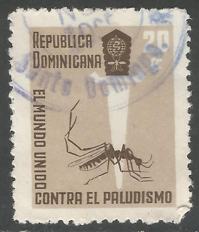 DOMINICAN REPUBLIC 559 VFU INSECT Y167-3