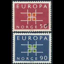 NORWAY 1963 - Scott# 441-2 Europa Set of 2 NH