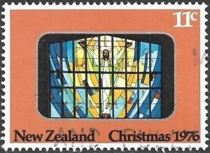 New Zealand 1976 Scott # 609 used. Free Shipping for All Additional Items.