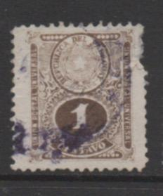 Paraguay  scott # 191  used  single