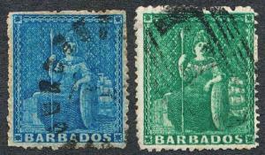 BARBADOS 13-14 USED, CLEAN CUT PERF 14-16