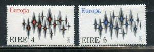 IRELAND 1972  EUROPA SCOTT#916/17 MINT NH