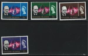 Pitcairn Islands SC56-59  Sir Winston Churchill-Memorial Issue 1966