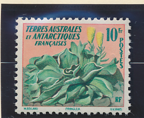 French Southern and Antarctic Territories Stamp Scott #11, Mint Hinged - Free...