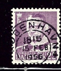 Denmark 354 Used 1955 issue    (ap2866)