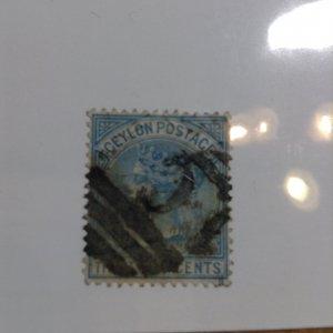 Ceylon  # 70  Used