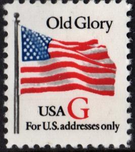 SC#2882 32¢ G Rate Old Glory Single (1994) MNH