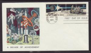 US 1434a Space Achievements Unknown U/A FDC